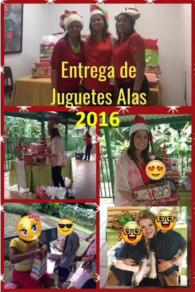 Collage de Entrega de Juguetes 2016